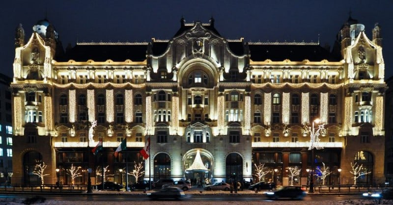 Four Seasons Hotel Gresham Palace Top 15 Converted Hotels