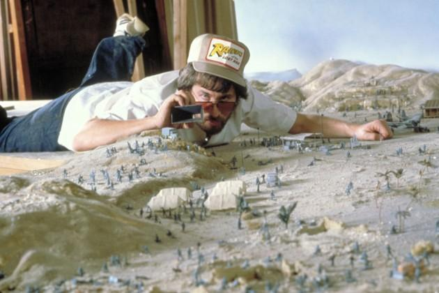 Spielberg doing the first Indiana Jones movie in 1980