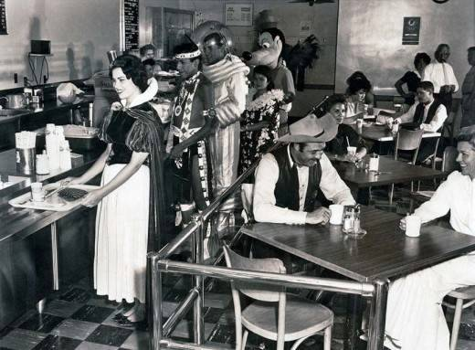 Canteen for Disney workers, 1961